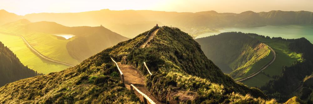 Azoren Wanderung in die Unendlichkeit - fotokunst von Jean Claude Castor