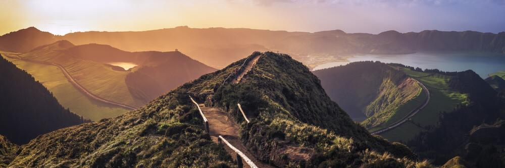 Wanderung auf den Azoren - fotokunst von Jean Claude Castor