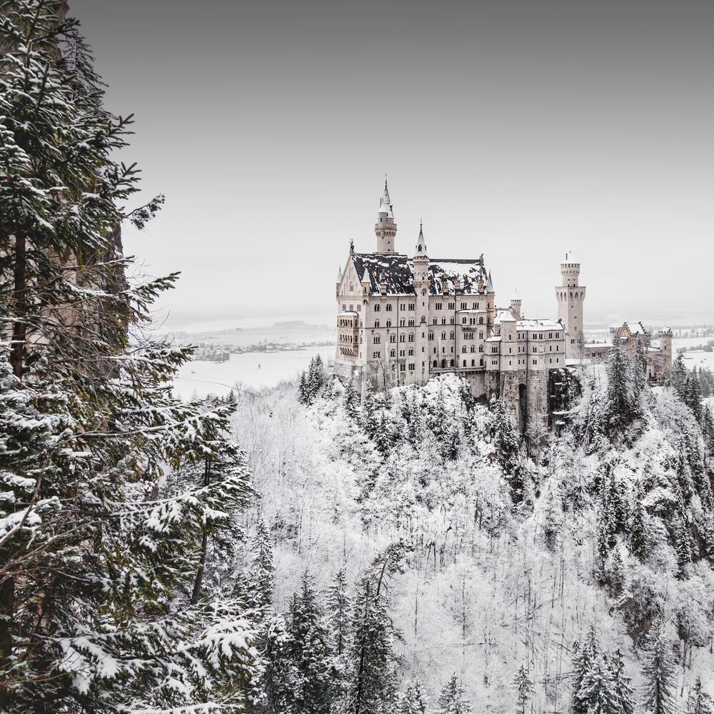 Schloss Neuschwanstein - fotokunst von Ronny Behnert