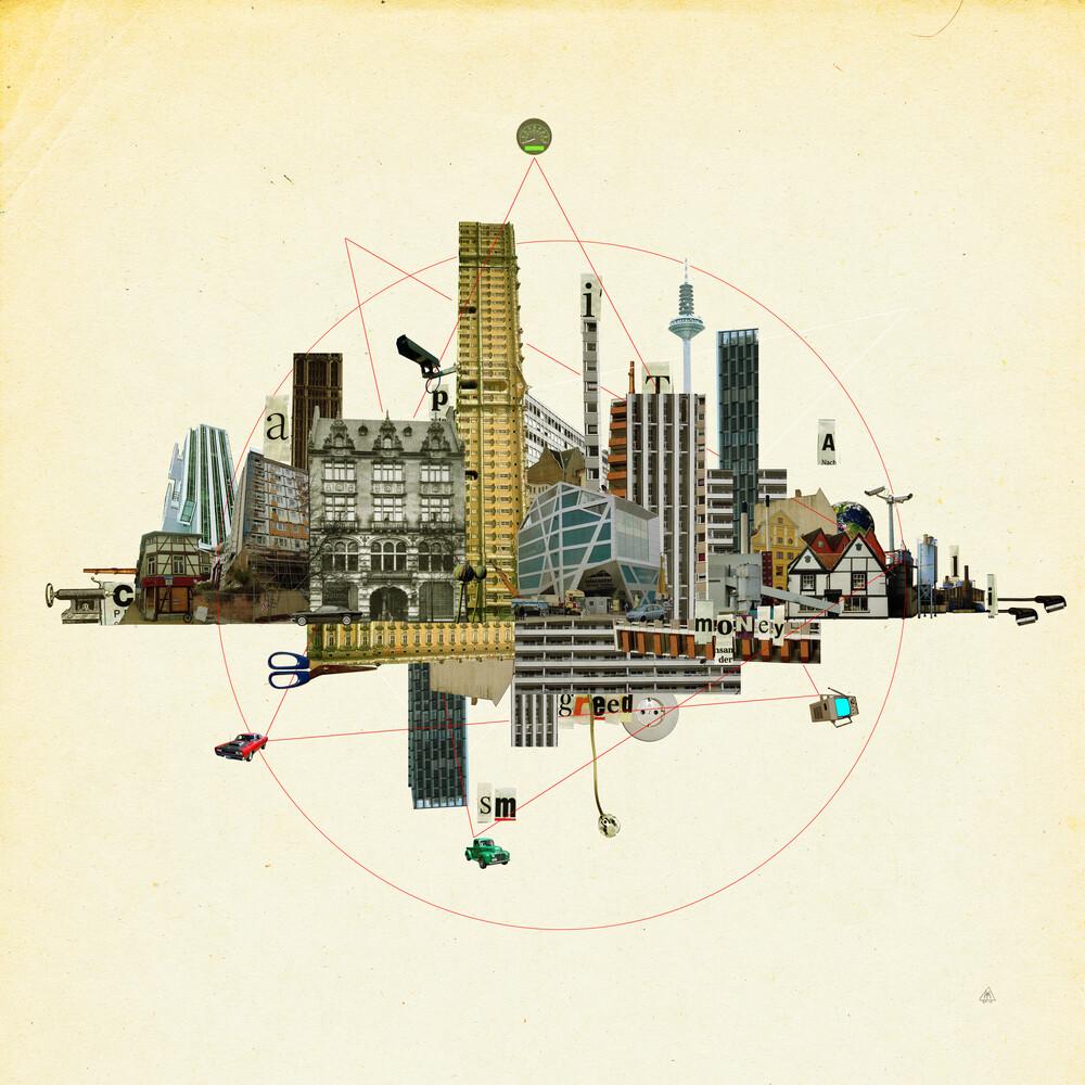 Collage City Mix 8 - fotokunst von Marko Köppe