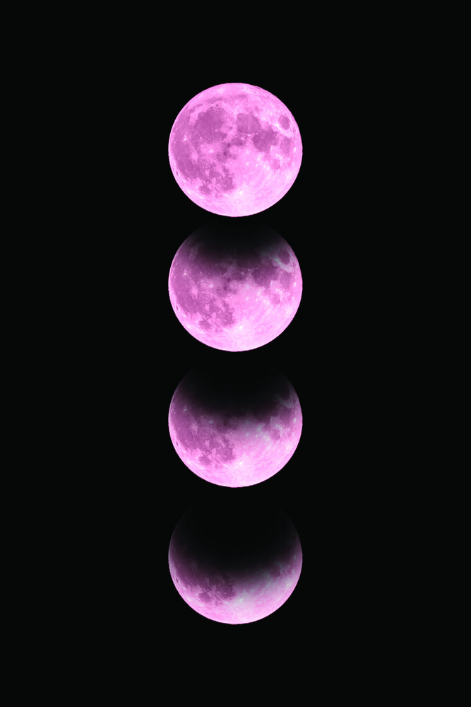 Pink Moon - Fineart photography by Emanuela Carratoni