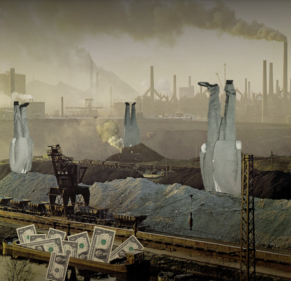 the truth is dead · just make money - fotokunst von Marko Köppe