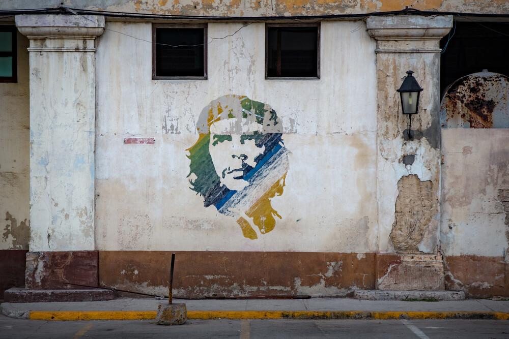 Das Symbol für Revolution - Che Guevara - fotokunst von Franz Sussbauer
