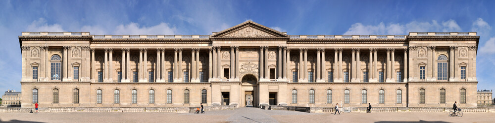 Paris | Louvre Palast - fotokunst von Joerg Dietrich