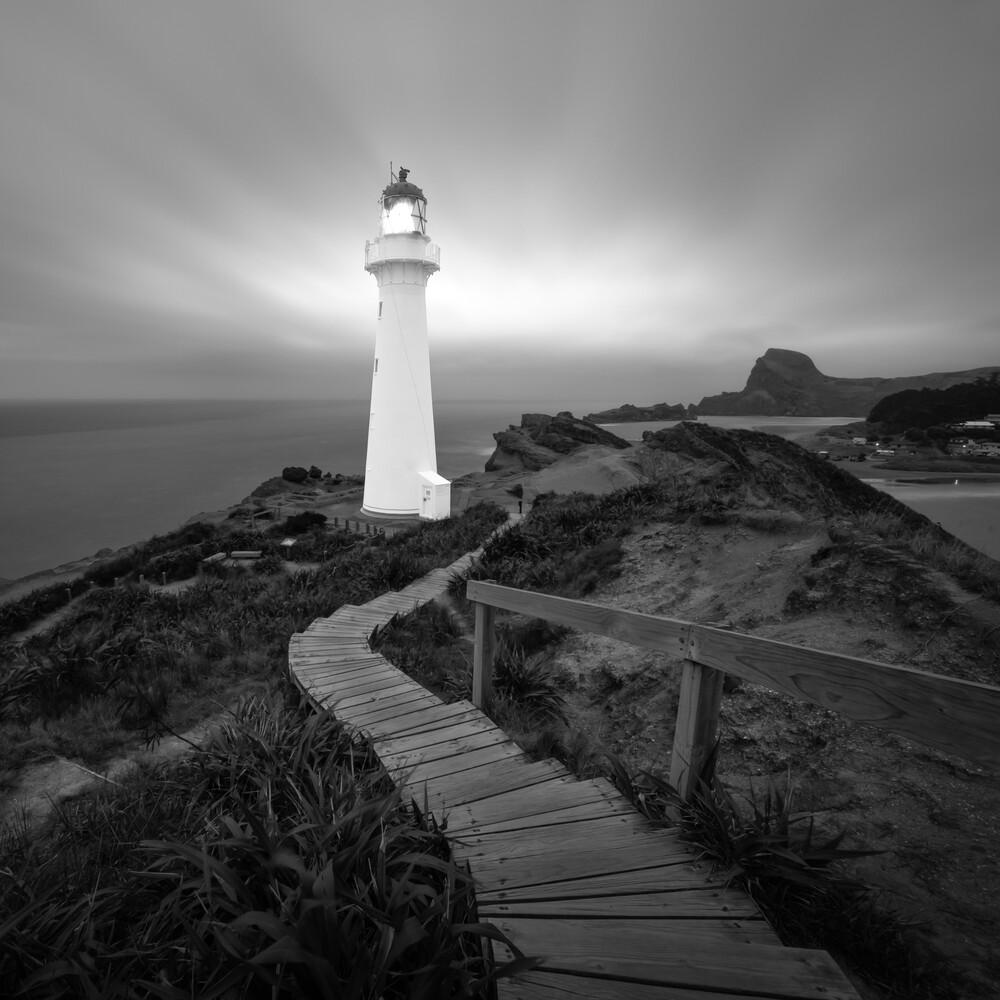 CASTLE POINT LIGHTHOUSE - fotokunst von Christian Janik