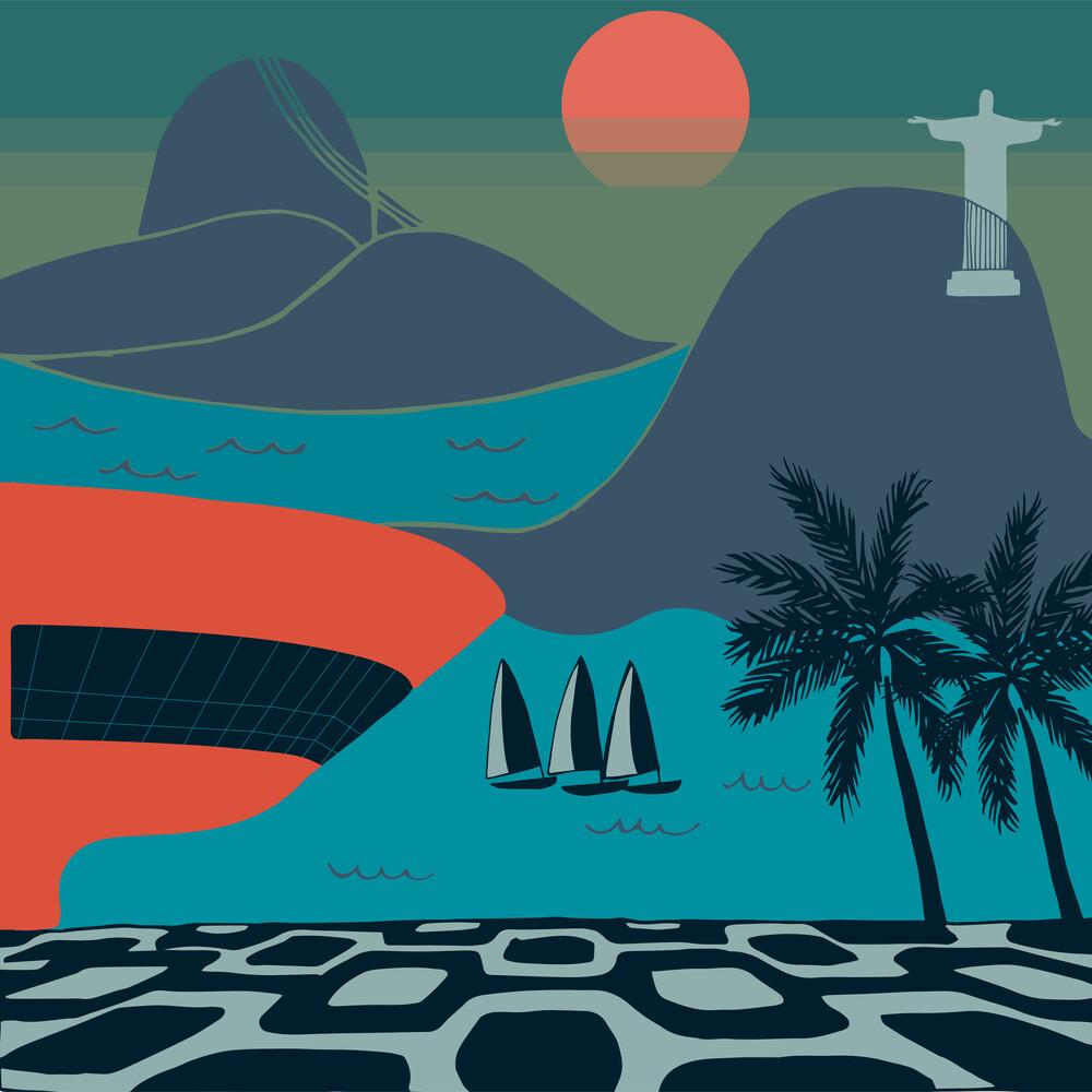 Rio de Janeiro - Fineart photography by Dunia Nalu