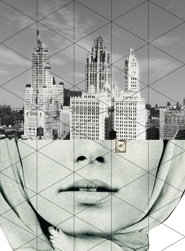 Der Traum von der Stadt - fotokunst von Marko Köppe