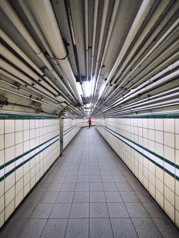 Tunnel vision - fotokunst von Roc Isern