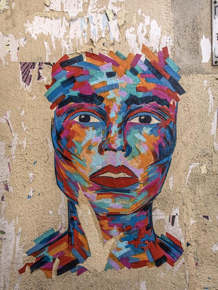 Marseille Grafitti I - Fineart photography by Michael Schulz-dostal