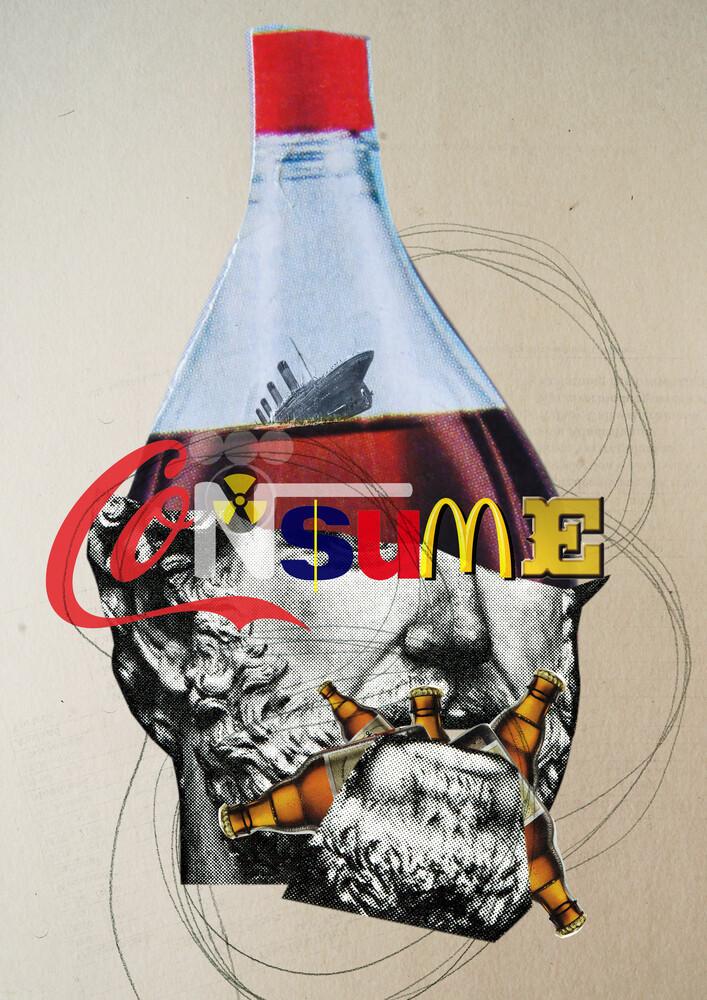 Consume Statue 2 - fotokunst von Marko Köppe