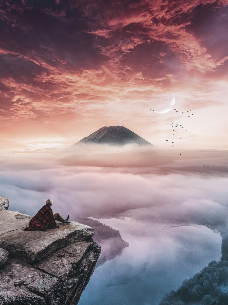 The Volcano - Fineart photography by Lukas Zischke