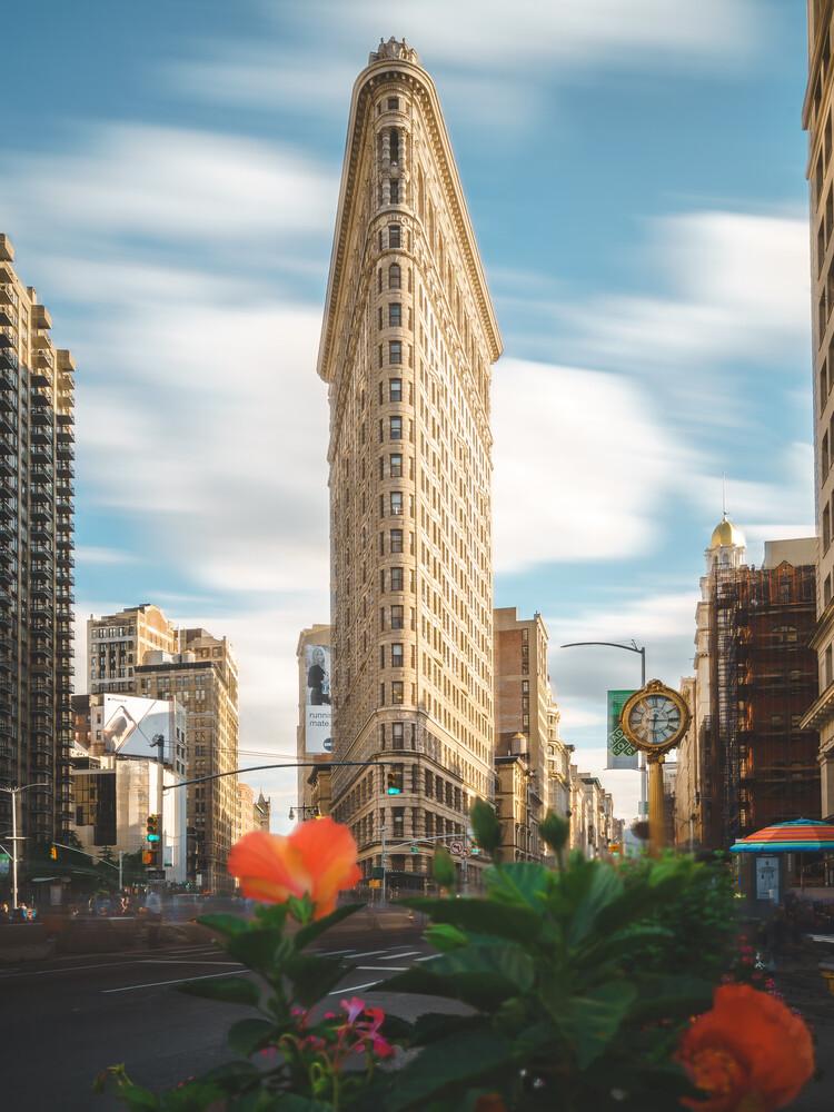 flatiron building - fotokunst von Dimitri Luft
