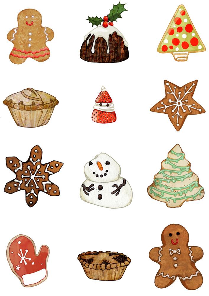 Christmas Treats - fotokunst von Katherine Blower