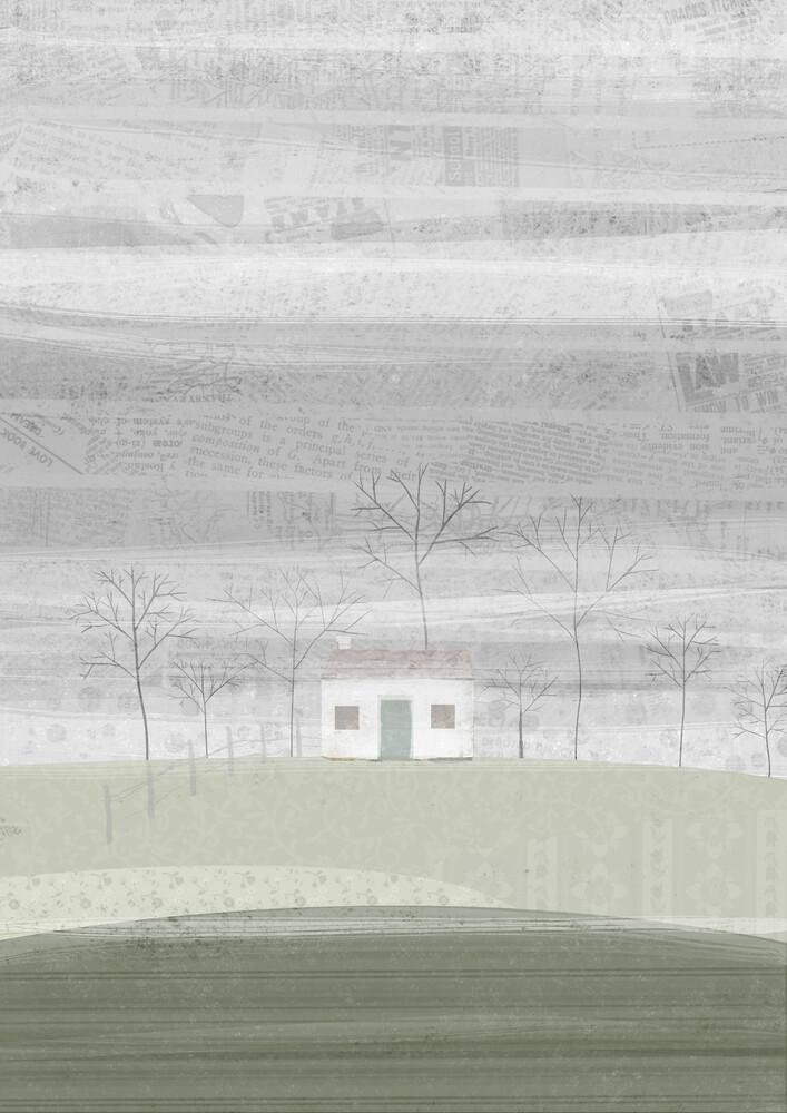 Winter Farm - fotokunst von Katherine Blower
