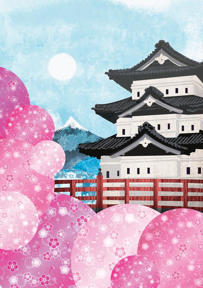 Japan - fotokunst von Katherine Blower