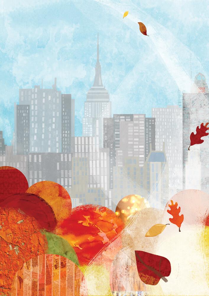 New York In the Fall - fotokunst von Katherine Blower