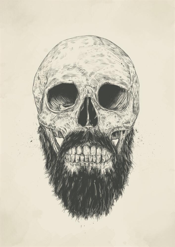 The beard is not dead - fotokunst von Balazs Solti