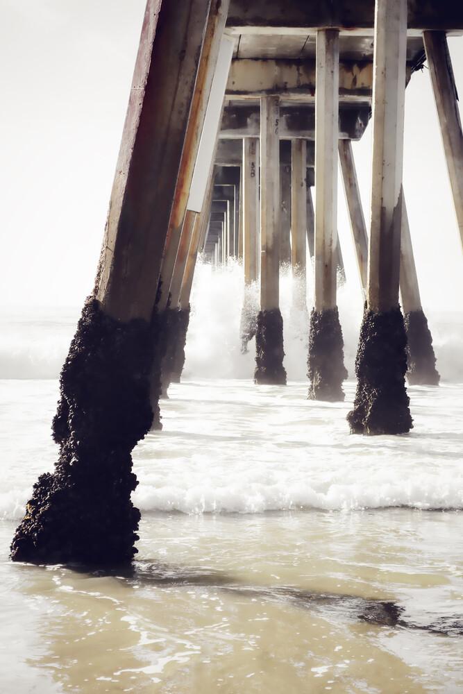 The Old Pier - fotokunst von Karl Johansson