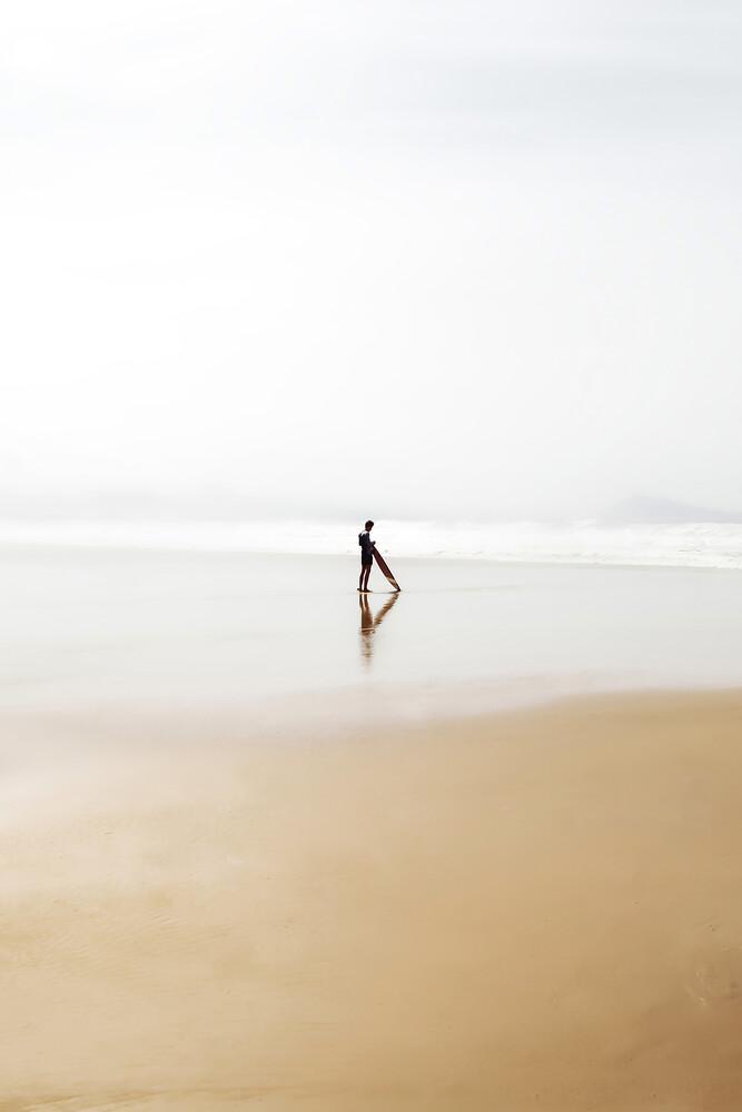 The Lone Surfer - fotokunst von Karl Johansson