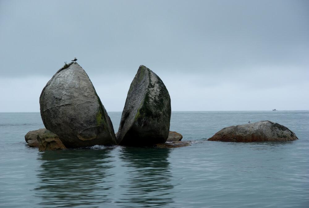 Splitstone - fotokunst von Martin Erichsen