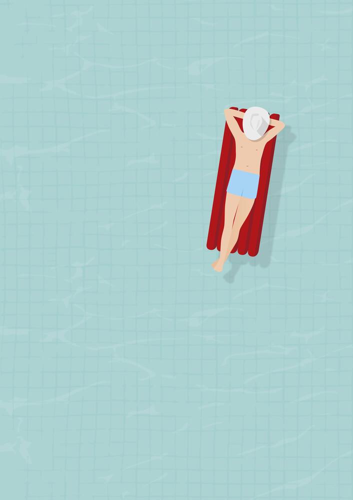 Luftmatratze - fotokunst von Christina Ernst