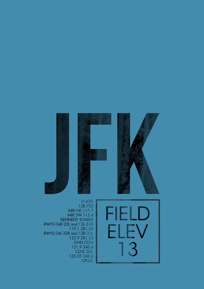 JFK ATC - Fineart photography by Ryan Miller