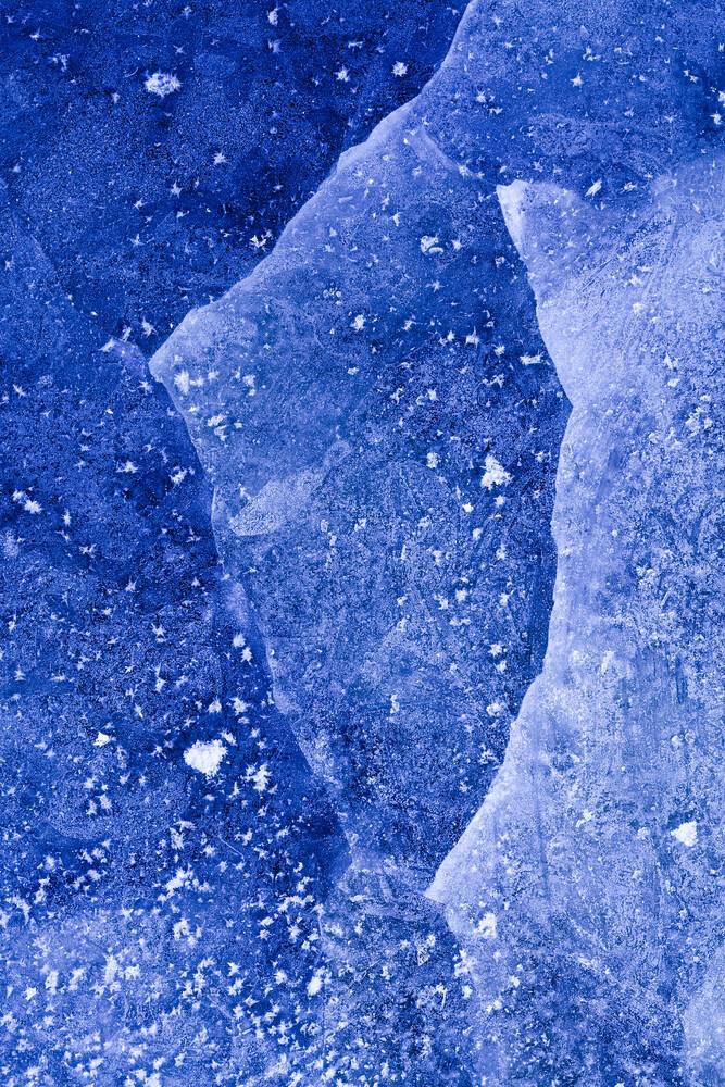 Blue Ice - fotokunst von Sebastian Worm
