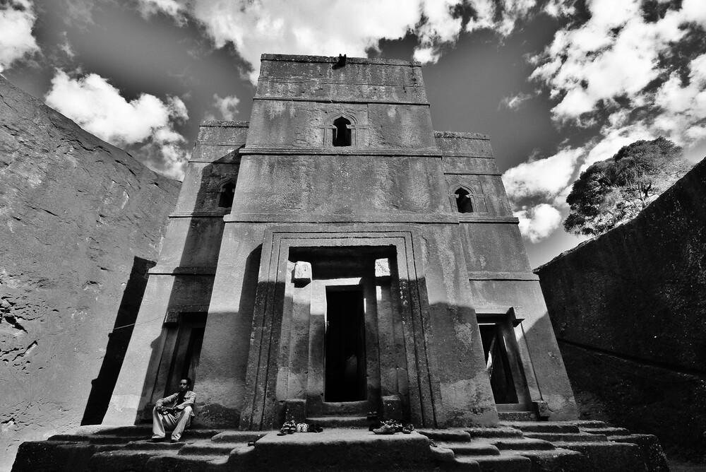 Steinkirche - fotokunst von Martin Erichsen