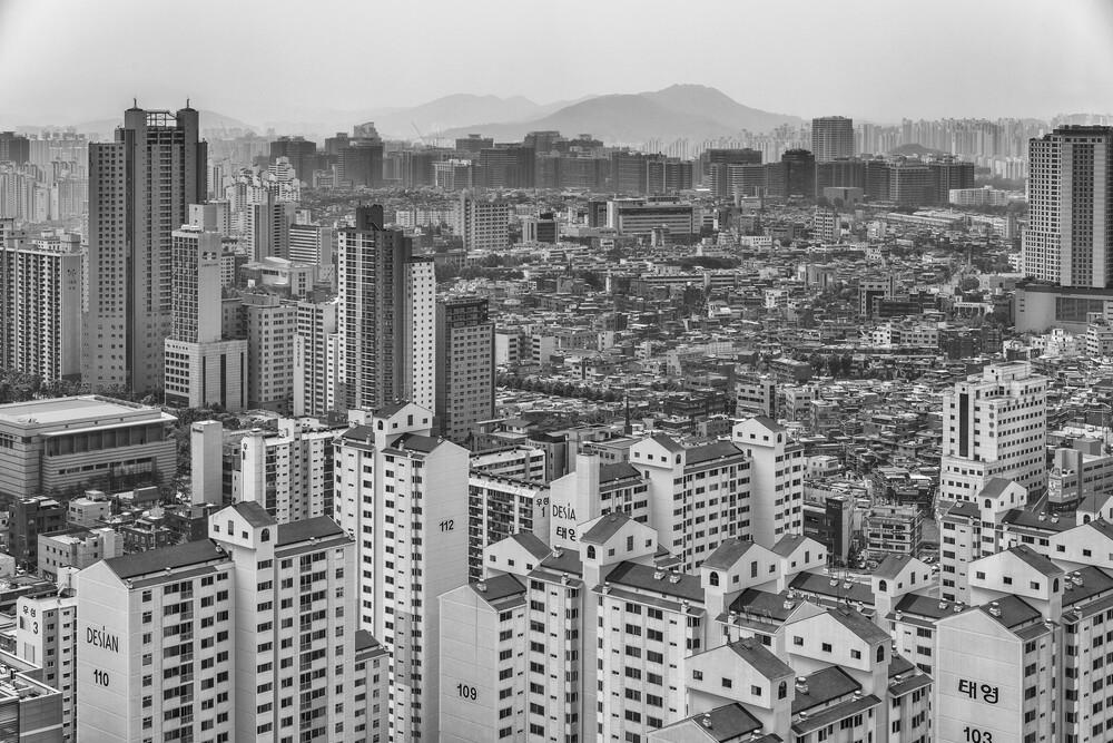 Seoul, Korea - fotokunst von Olaf Dorow