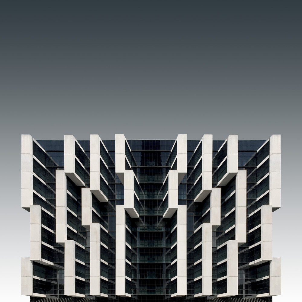 A parasitic architecture - Fineart photography by Pau Iglesias