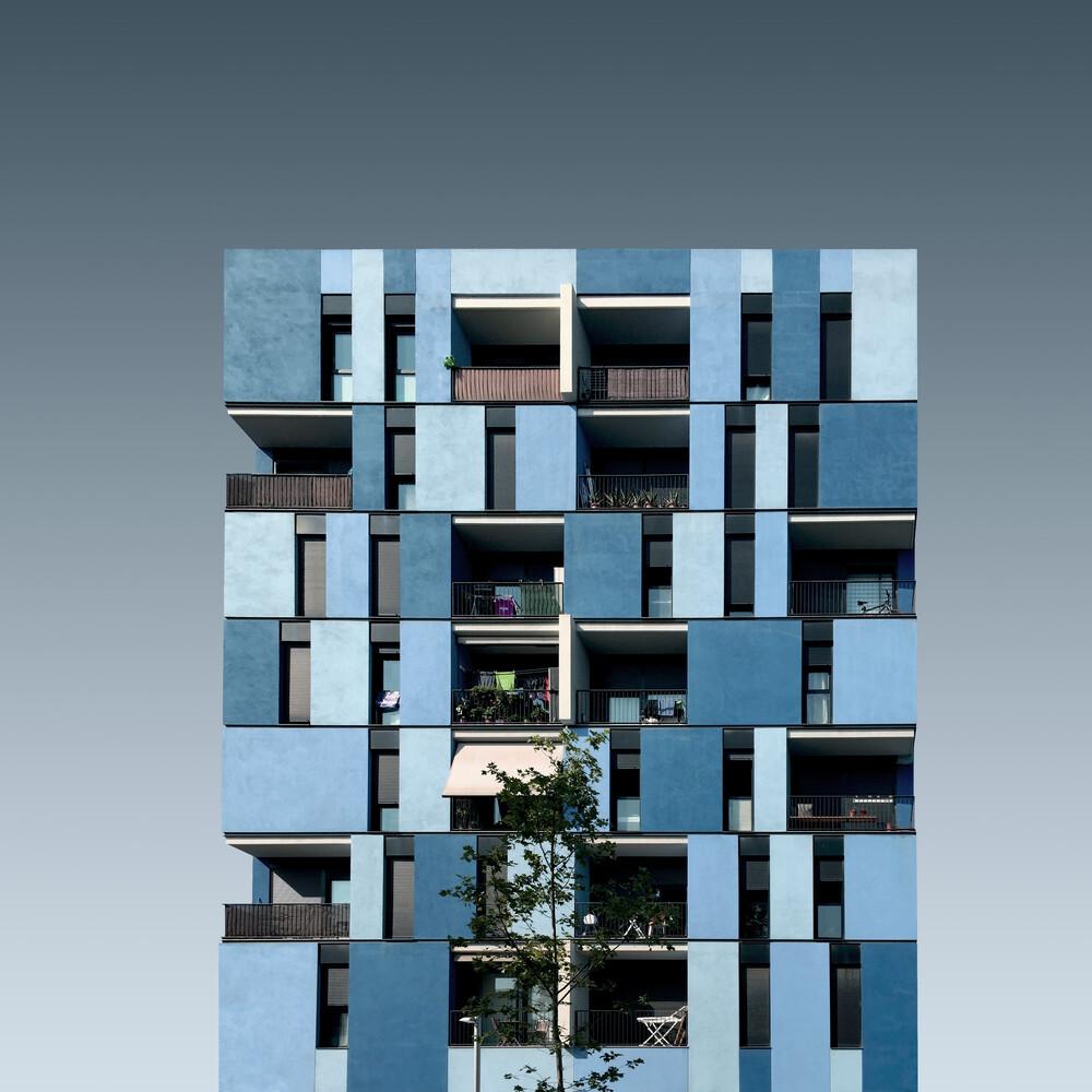 Blue festival - Fineart photography by Pau Iglesias