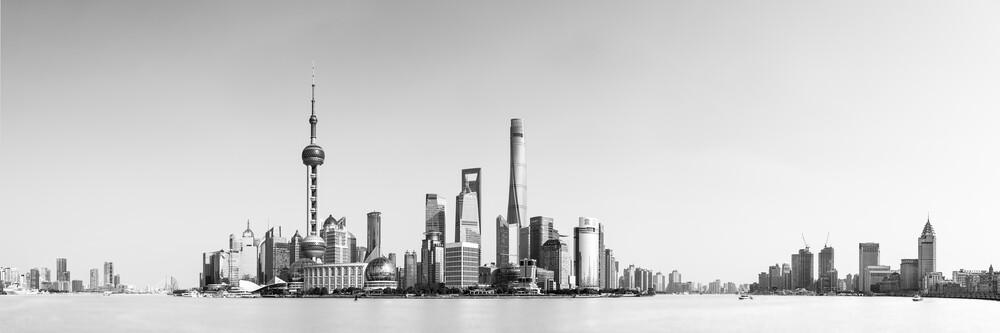 Shanghai Skyline - fotokunst von Thomas Kleinert