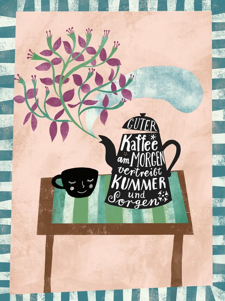 Kaffee am Morgen vertreibt Kummer und Sorgen - Fineart photography by Constanze Guhr
