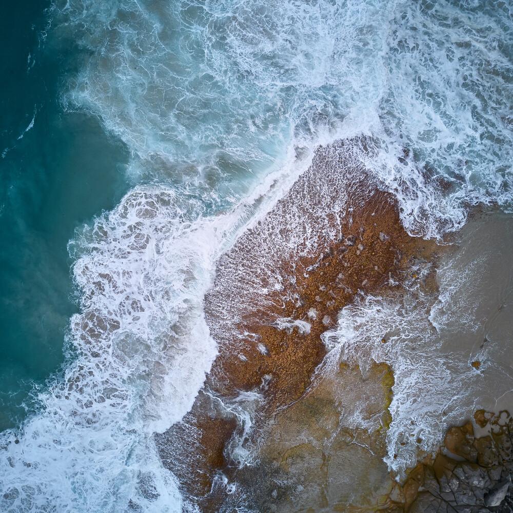 Ruff Sea - fotokunst von Sandflypictures - Thomas Enzler
