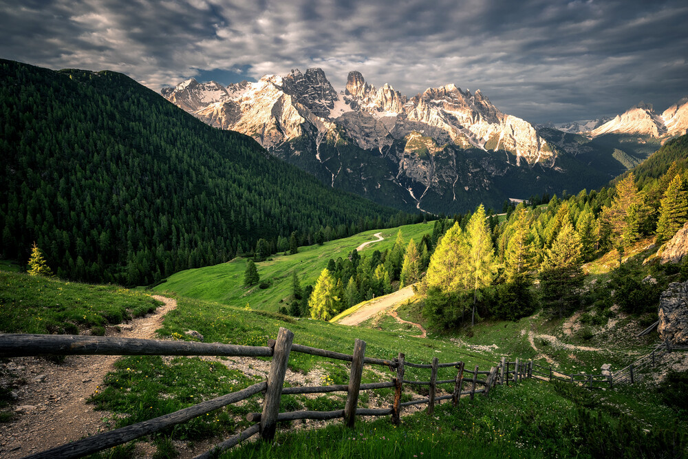 Shine on the Dolomites - Fineart photography by Martin Morgenweck