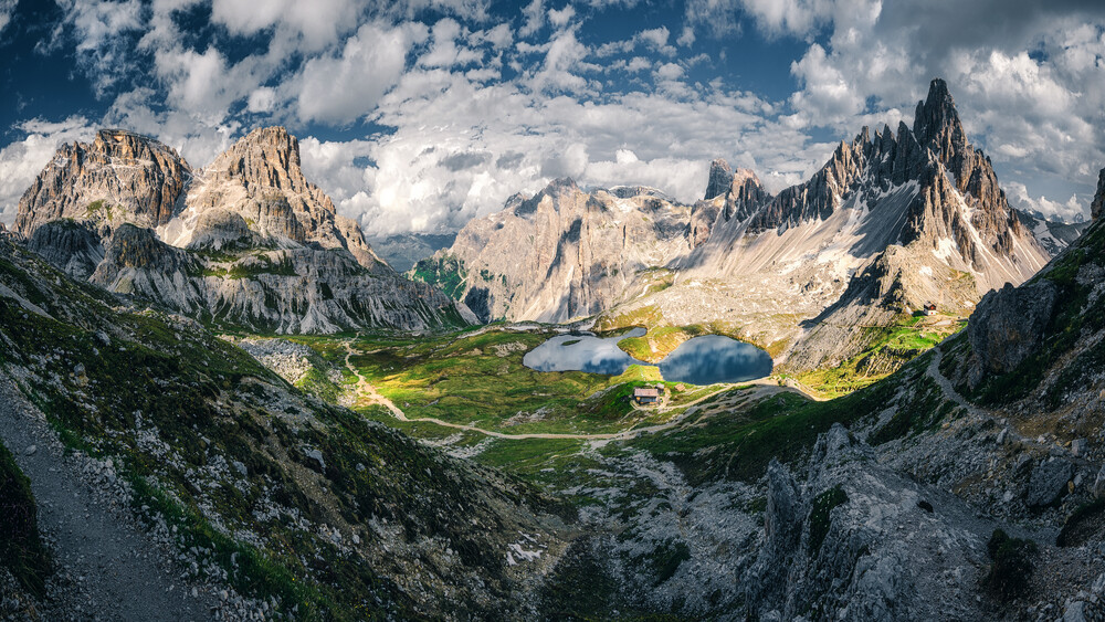 The Mountaintop Panorama - Fineart photography by Martin Morgenweck