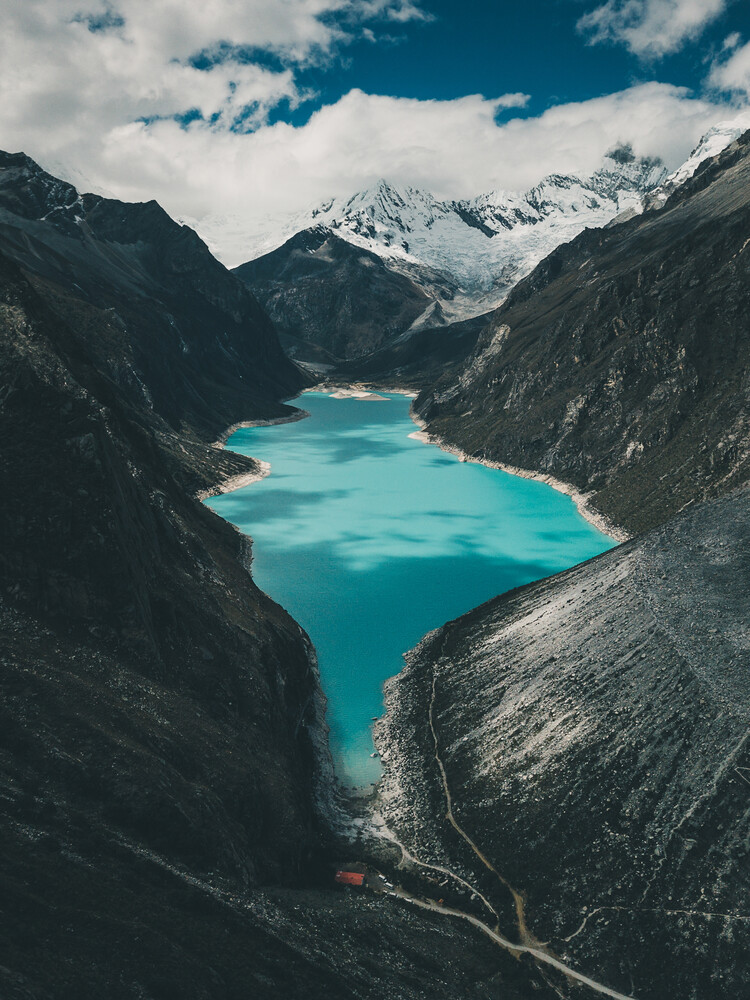 Laguna Paron aus Sicht eines Kondors - fotokunst von Ueli Frischknecht
