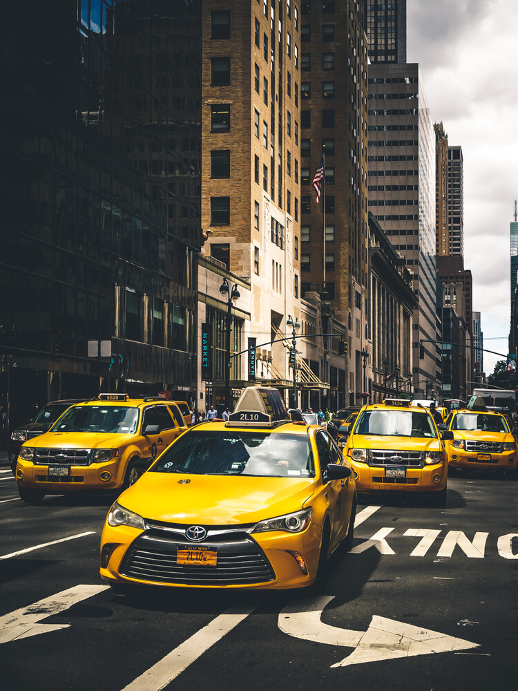 Taxi Squad - Fineart photography by Dimitri Luft