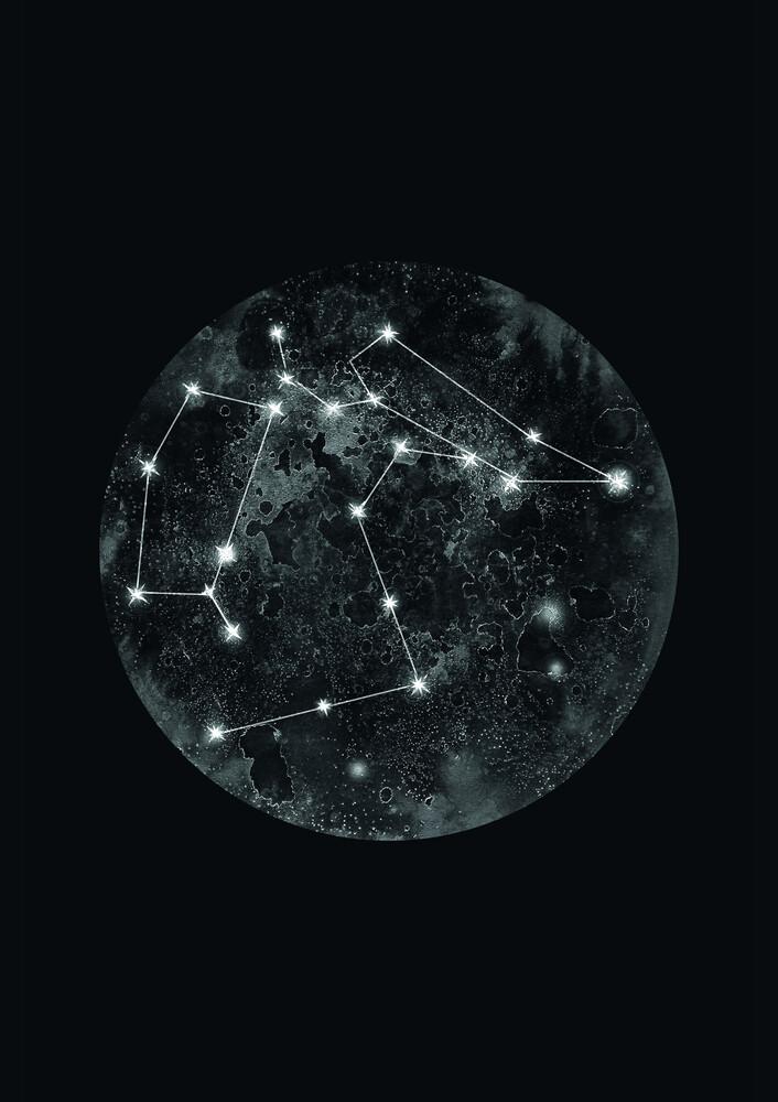 Constellation Black - Fineart photography by Julia Hariri