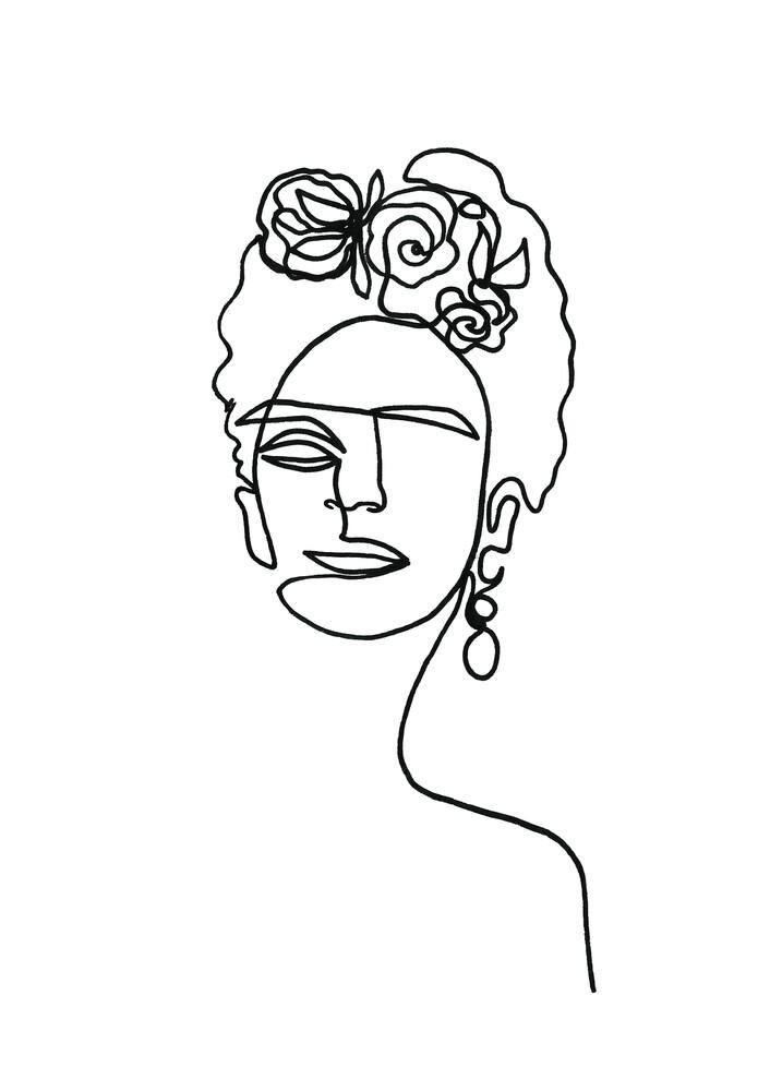 Frida Kahlo - fotokunst von Julia Hariri