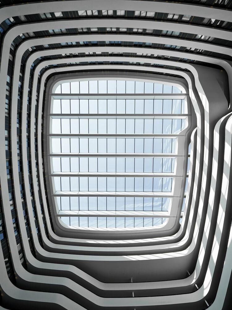 360° EKG - fotokunst von Oliver Matziol