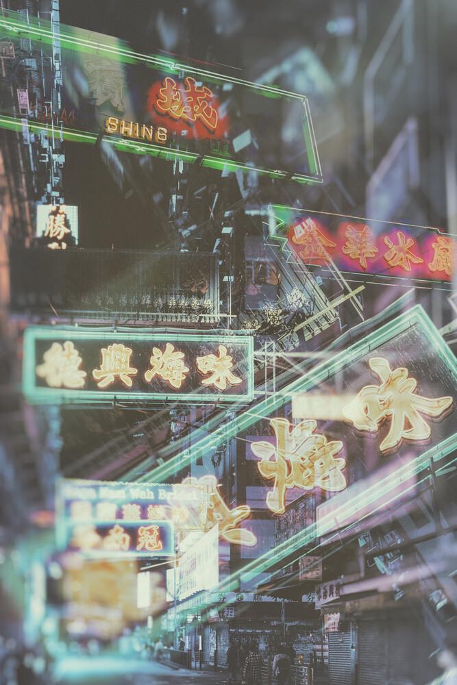 Hong Kong Neon - fotokunst von Pascal Deckarm