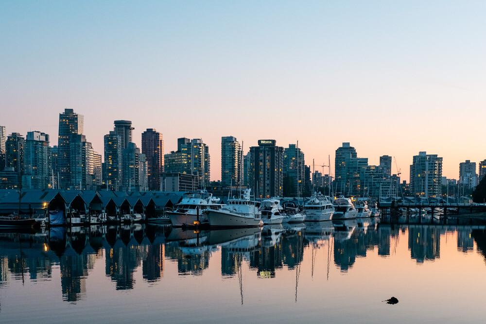 Vancouver Downtown - Fineart photography by Manuel Gros