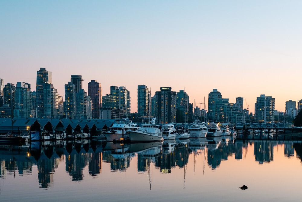 Vancouver Downtown - fotokunst von Manuel Gros