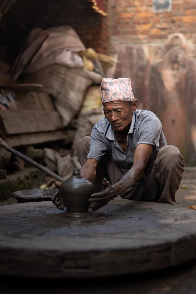People of Nepal - fotokunst von Thomas Christian Keller