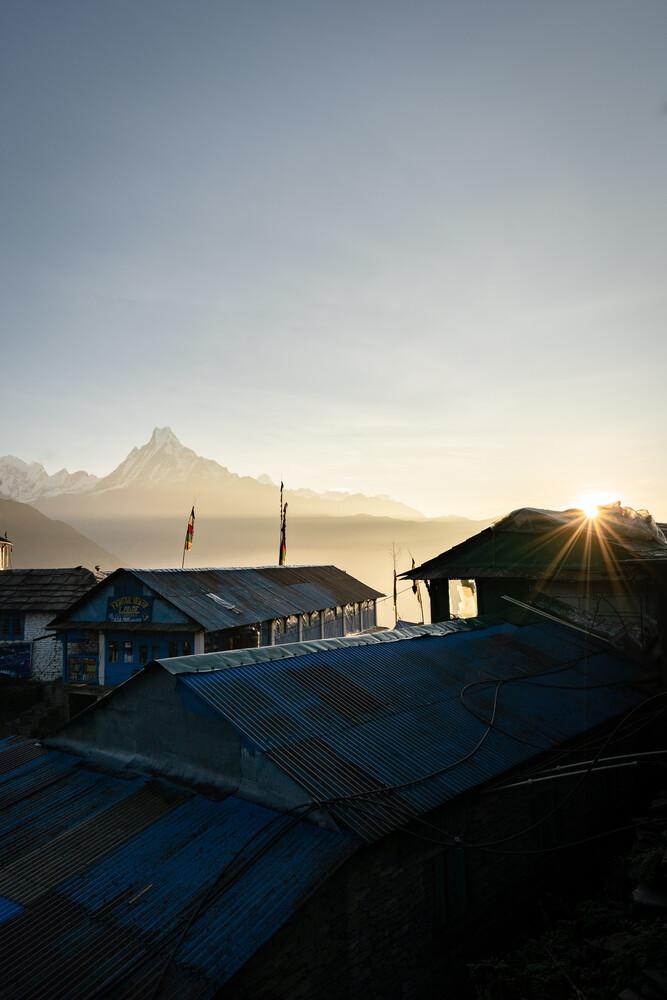 Annapurna Base Camp - fotokunst von Thomas Christian Keller