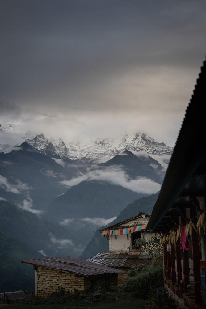 Annapurna Bade Camp - fotokunst von Thomas Christian Keller