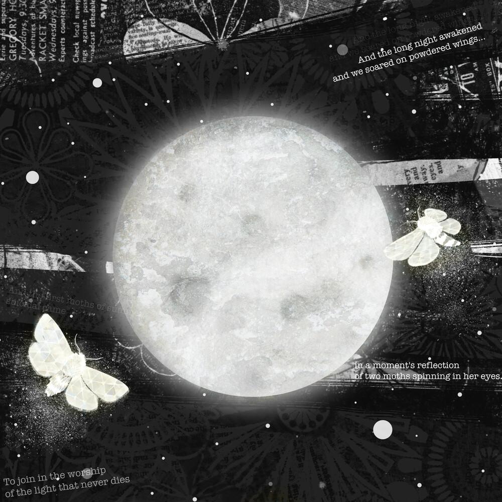 Moths On The Moon - fotokunst von Katherine Blower