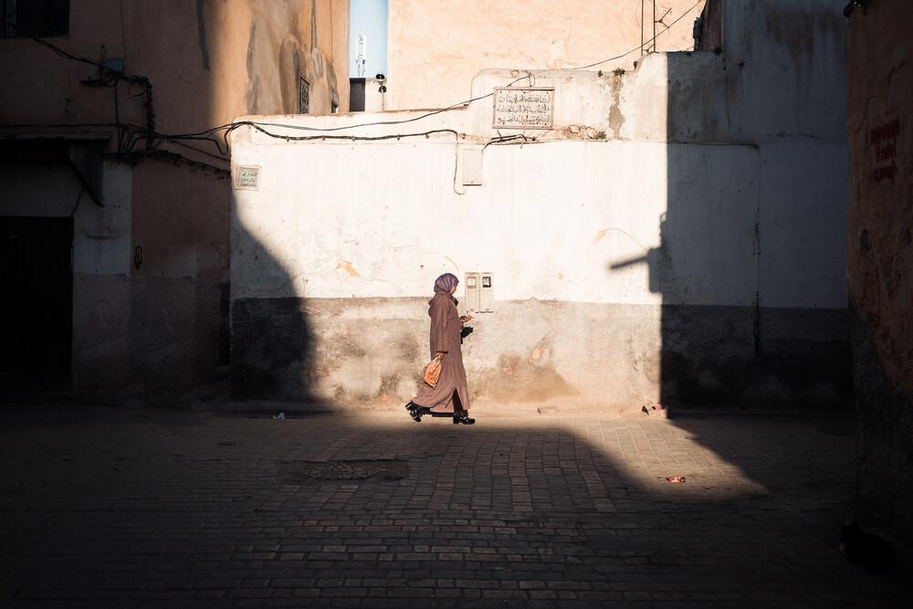 people of morocco - fotokunst von Thomas Christian Keller