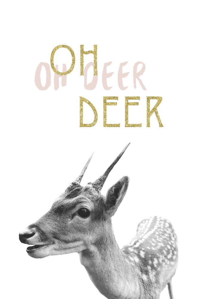 oh deer - fotokunst von Sabrina Ziegenhorn